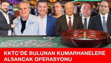 kktc alsancak kumarhane operasyonu