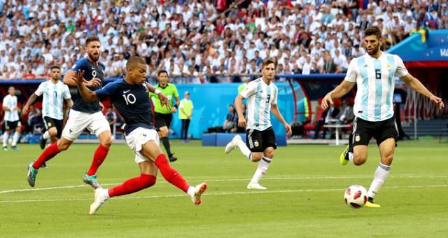 Dünya Kupasında İlk Çeyrek Finalist, Arjantin'i 4-3 Yenen Fransa Oldu
