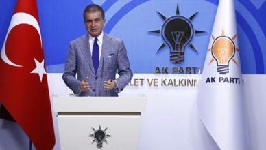 Ak Parti sözcüsü Ömer Çelik MYK toplantısı sonrası açıklamalarda bulundu