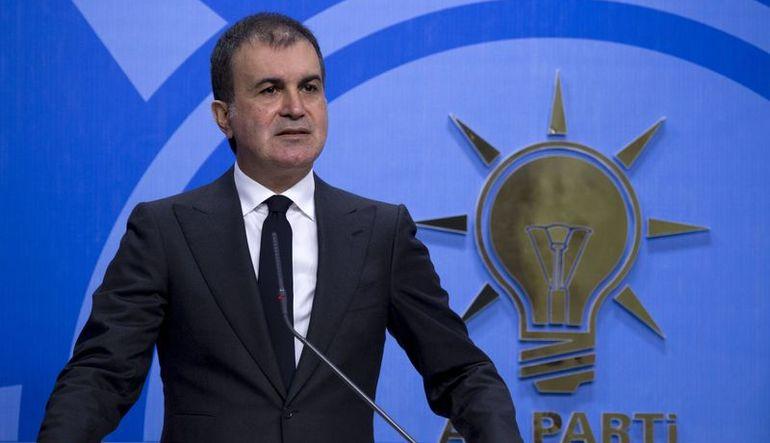Ak Parti sözcüsü Ömer Çelik MYK toplantısı sonrası açıklamalarda bulundu1